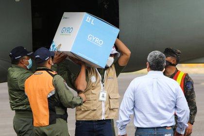 Honduras recibe 48.000 vacunas bajo mecanismo Covax Tegucigalpa. Agencia EFE