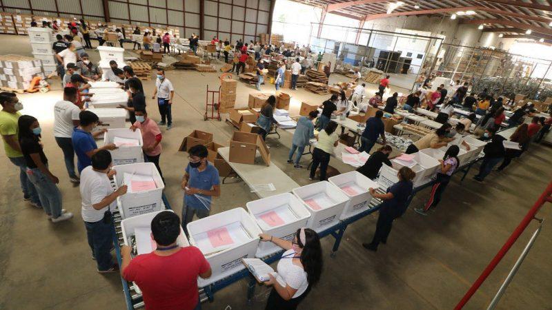 Inicia fase final de escrutinio electoral en El Salvador San Salvador. Prensa Latina