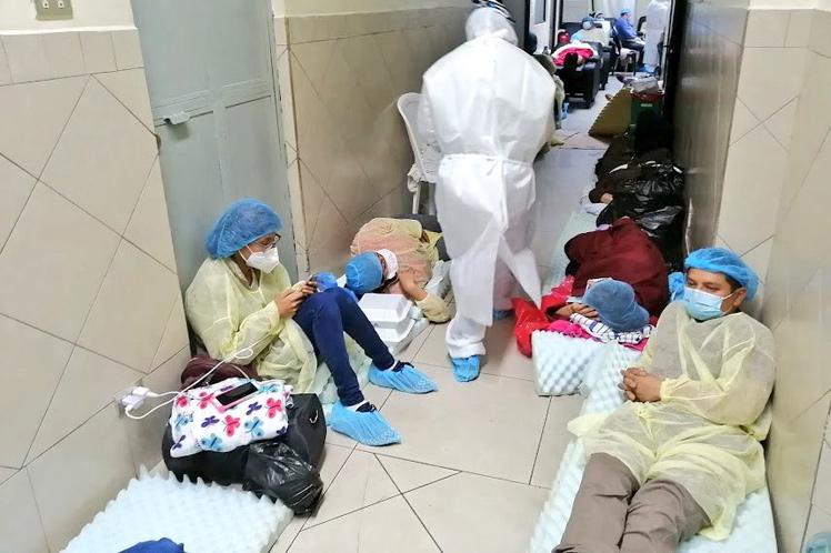 Colapsan hospitales en Guatemala por pacientes críticos de Covid-19 Ciudad de Guatemala. Prensa Latina