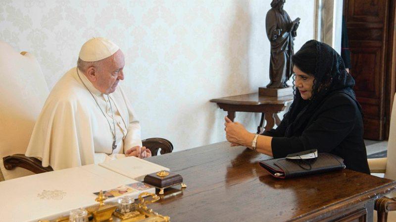 Embajadora de Nicaragua presenta cartas credenciales ante la Santa Sede Managua. Radio La Primerísima
