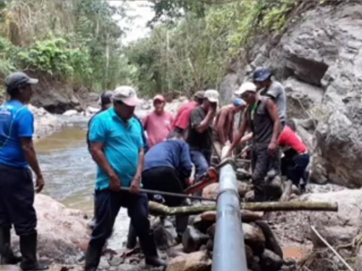 Mejoran sistema de agua para 450 familias en Wiwilí Managua. Radio La Primerísima