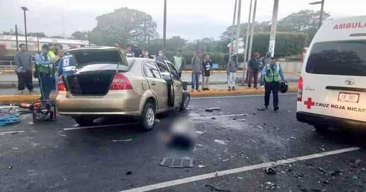 Condenan a conductor ebrio que mató a tres personas Managua. Jerson Dumas/ Radio La Primerísima