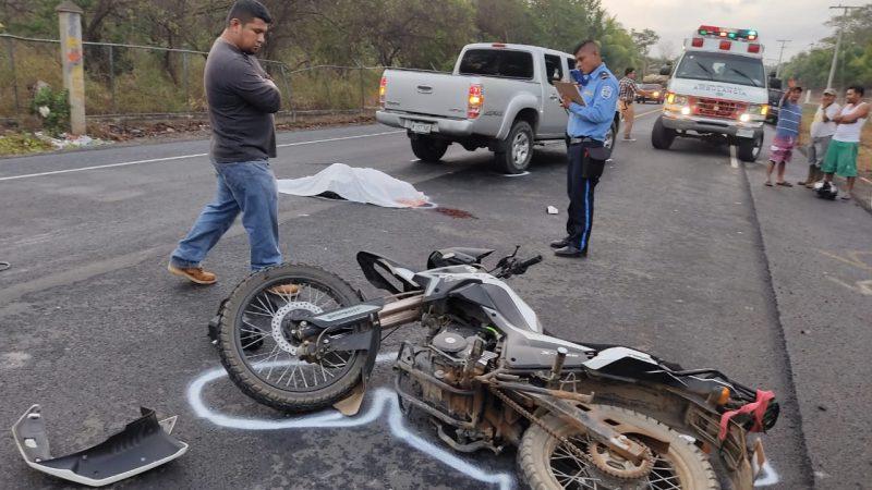 Cuatro personas fallecidas por accidente de tránsito este sábado Managua. Radio La Primerísima