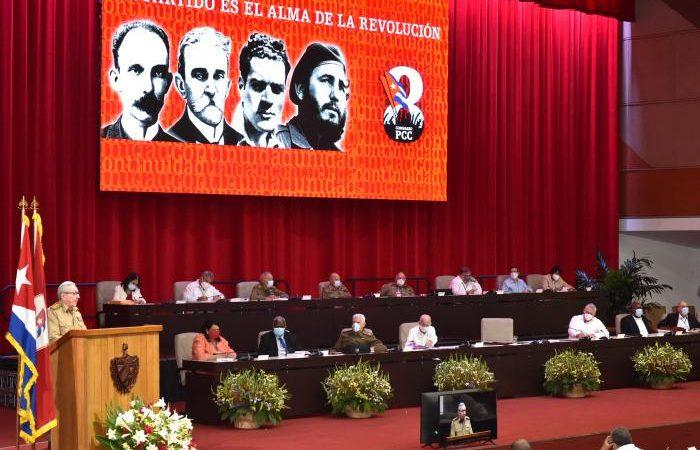 Presidente destaca cita inicial del congreso del PC en Cuba La Habana. Prensa Latina
