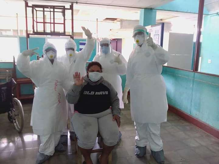 5,212 se han recuperado de Covid-19 Managua. Radio La Primerísima
