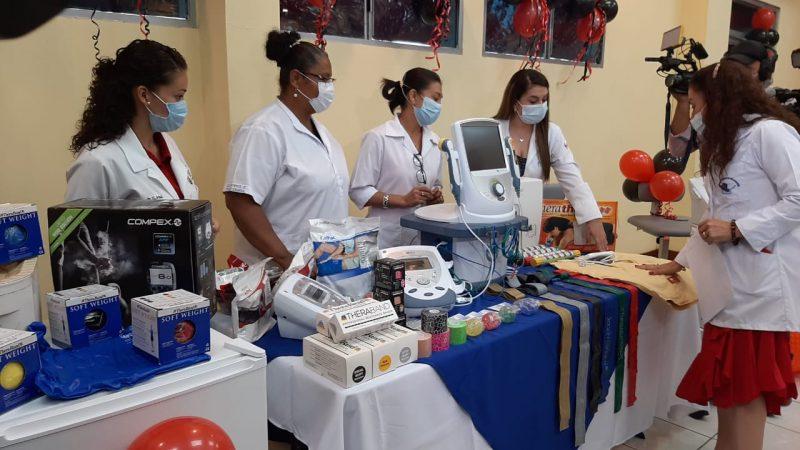Equiparán 22 salas de fisioterapia en cinco departamentos Managua. Jerson Dumas