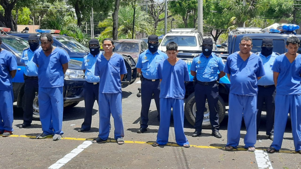 Plan de seguridad deja a 67 delincuentes tras las rejas Managua. Jerson Dumas/ Radio La Primerísima