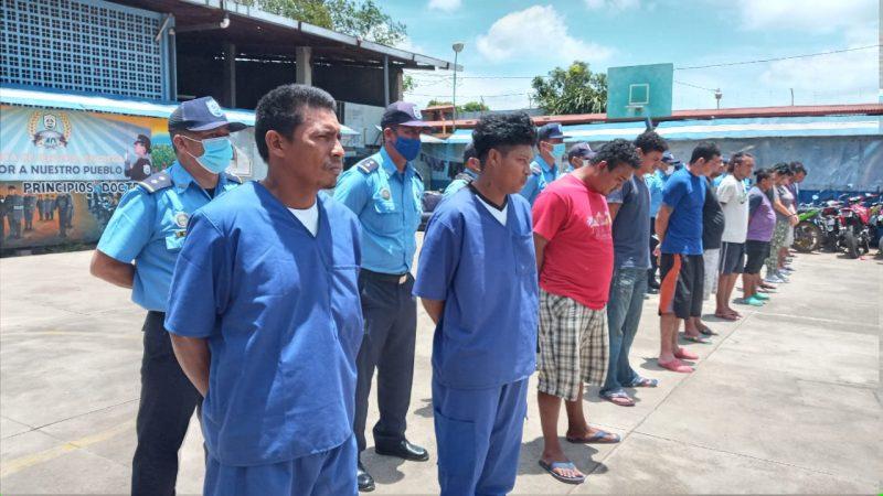 Capturan a 14 delincuentes de alta peligrosidad en Carazo Carazo. Manuel Aguilar/ Radio La Primerísima