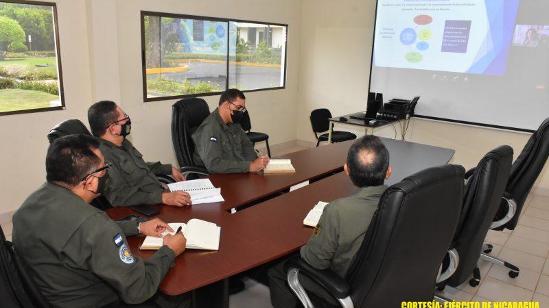 Ejército robustece cooperación Managua. Radio La Primerísima