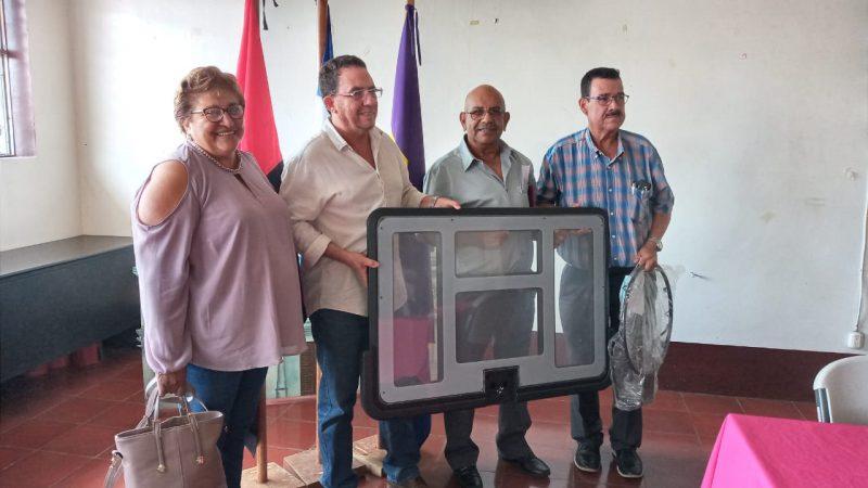 Entregan reconocimientos a forjadores del deporte en Jinotepe Carazo. Manuel Aguilar/ Radio La Primerísima