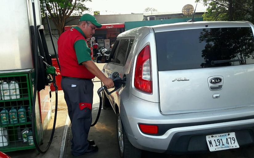Insignificante alza en precios de combustibles Managua. Radio La Primerísima