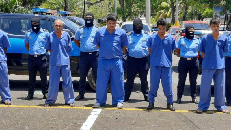 Arrestan a 49 delincuentes por diferentes ílicitos Managua. Jerson Dumas