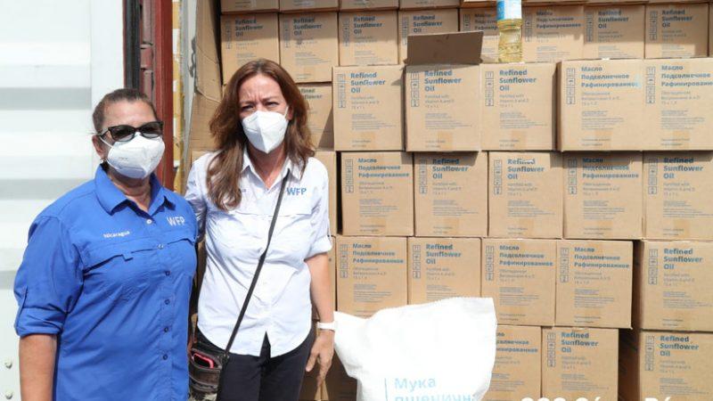 Desembarcan aceite y harina de trigo donados por Rusia Managua. Por Ingrid Canda/Radio La Primerísima