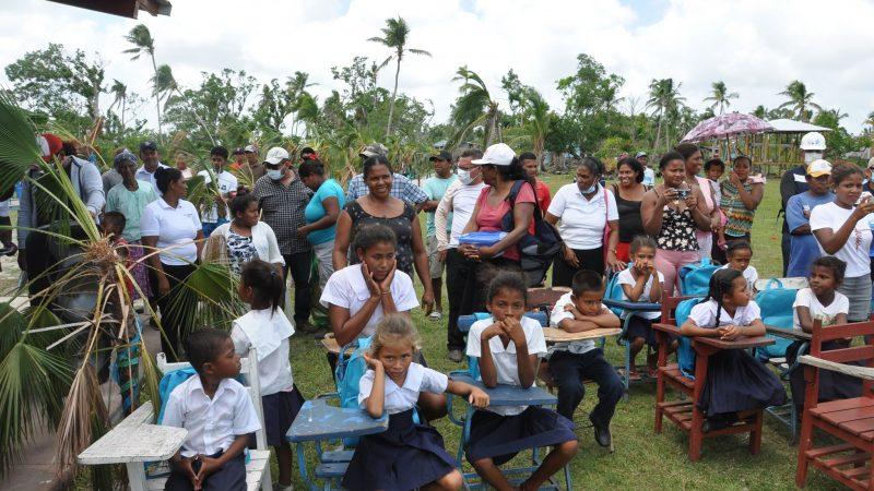 Inauguran escuela en comunidad indígena de Karata Managua. Radio La Primerísima