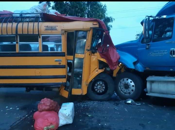 Accidente de tránsito deja cuatro lesionados en Estelí Managua. Por Ingrid Canda/Radio La Primerísima