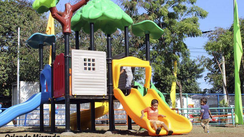 Alcaldía remozará más de 200 parques este año Managua. Radio La Primerísima