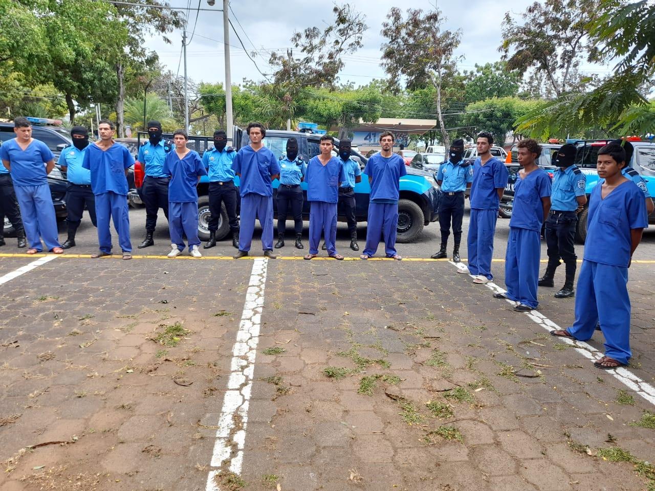 Tras las rejas 48 delincuentes de alta peligrosidad Managua. Por Ingrid Canda/Radio La Primerísima