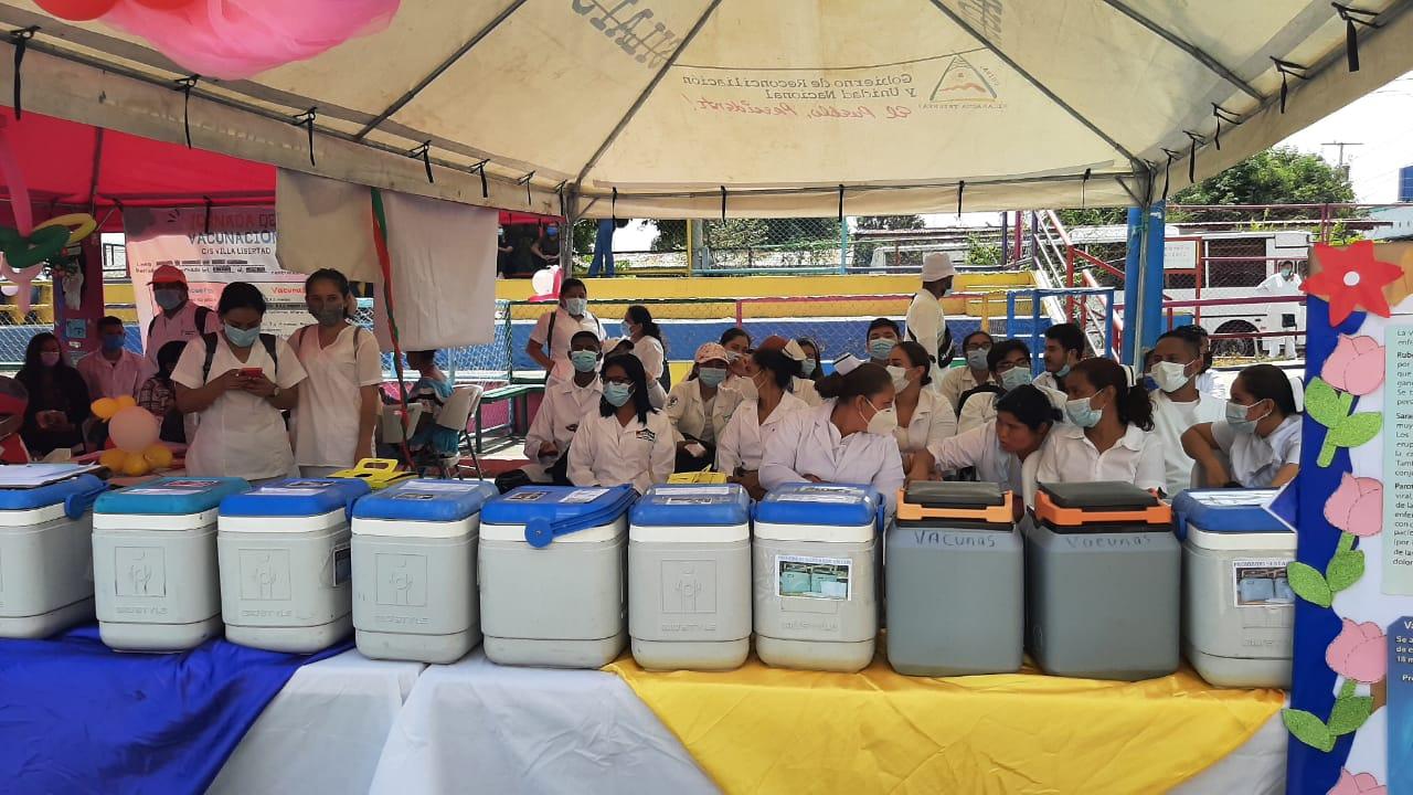 Arranca Jornada Nacional de Vacunación Managua. Radio La Primerísima