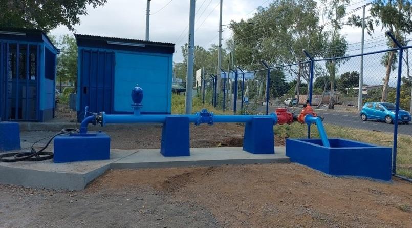 Mejoran servicio de agua a familias capitalinas Managua. Radio La Primerísima