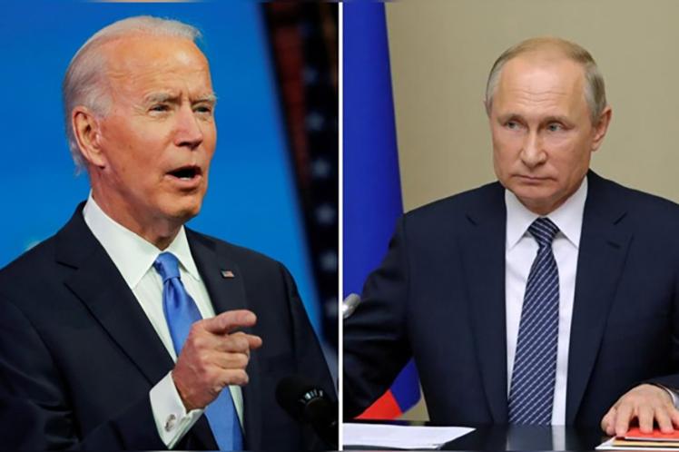Putin y Biden podrían sostener encuentro personal Moscú. Prensa Latina