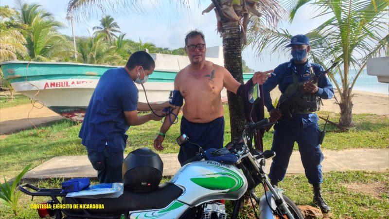 Rescatan a colombiano en aguas del Caribe Sur Managua. Radio La Primerísima
