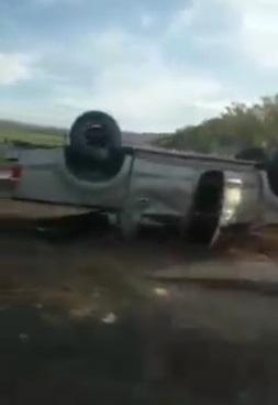 Triple colisión deja cuatro lesionados en Sébaco Managua. Radio La Primerísima