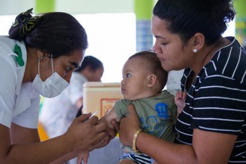 Inmunizan a más de medio millón de menores Managua. Por Jaime Mejía/Radio La Primerísima