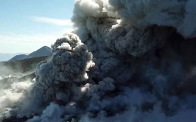Extrema alerta tras nueva explosión del volcán La Soufriere Kingstown. Prensa Latina