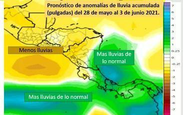 No lloverá en próximos días, excepto en Caribe Sur Managua. Radio La Primerísima