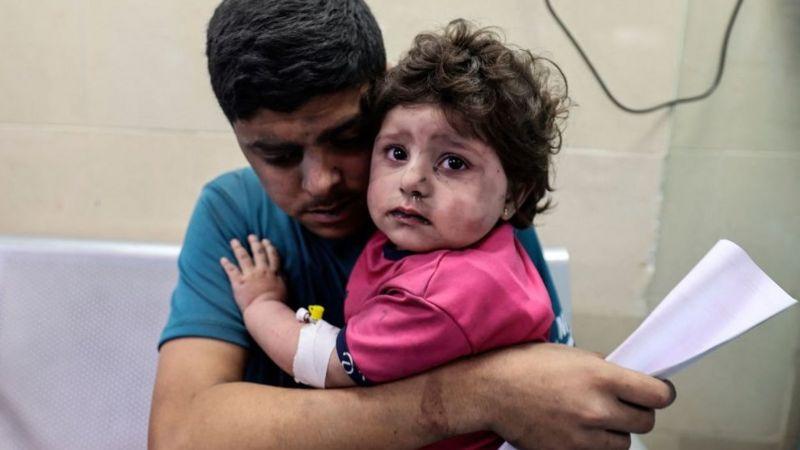 Violencia deja 48 muertos en Gaza y 6 en Israel Tel-Aviv. BBC de Londres