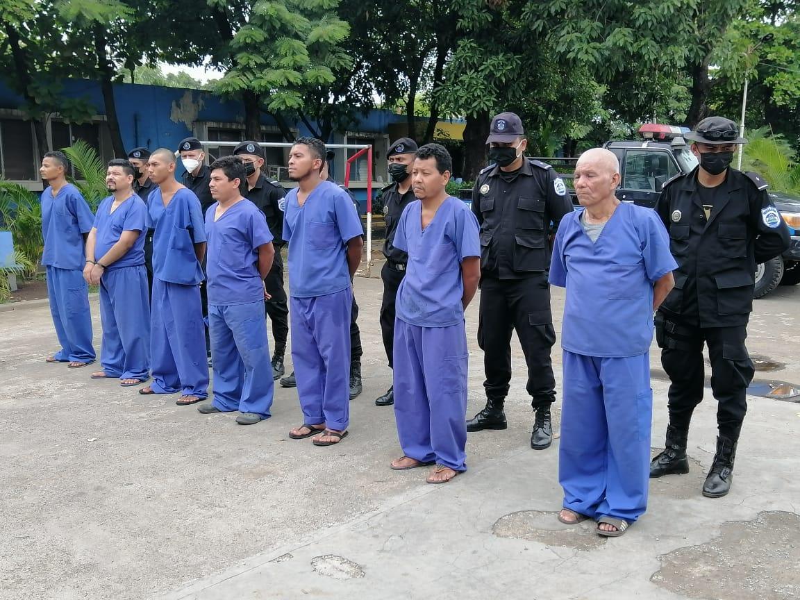 Detienen a 16 antisociales en Chinandega Managua. Radio La Primerísima