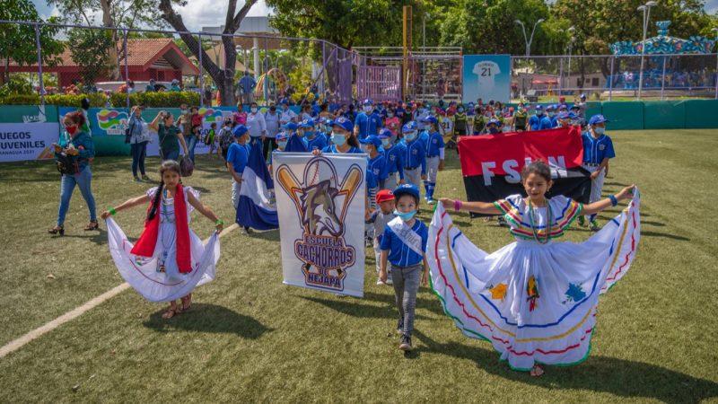 Inicia Liga de BéisbolJuvenil en Managua Managua. Radio La Primerísima