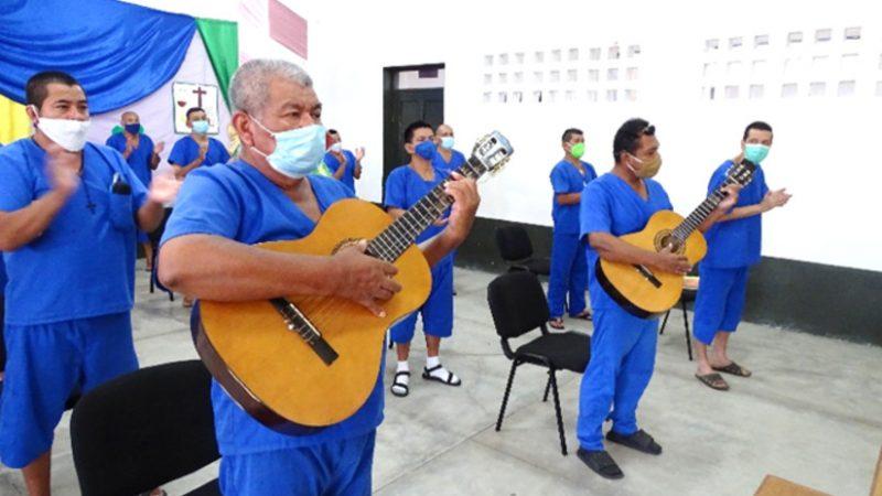 Privados de libertad participan en misa virtual Managua. Radio La Primerísima