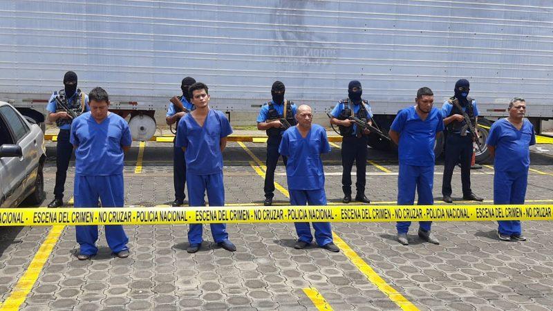 Capturan a banda delincuencial que operaba en Managua Managua. Por Jerson Dumas/Radio La Primerísima