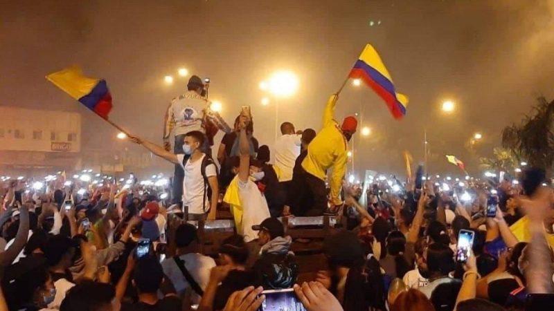 Colombia colapsa Misión Verdad, Venezuela