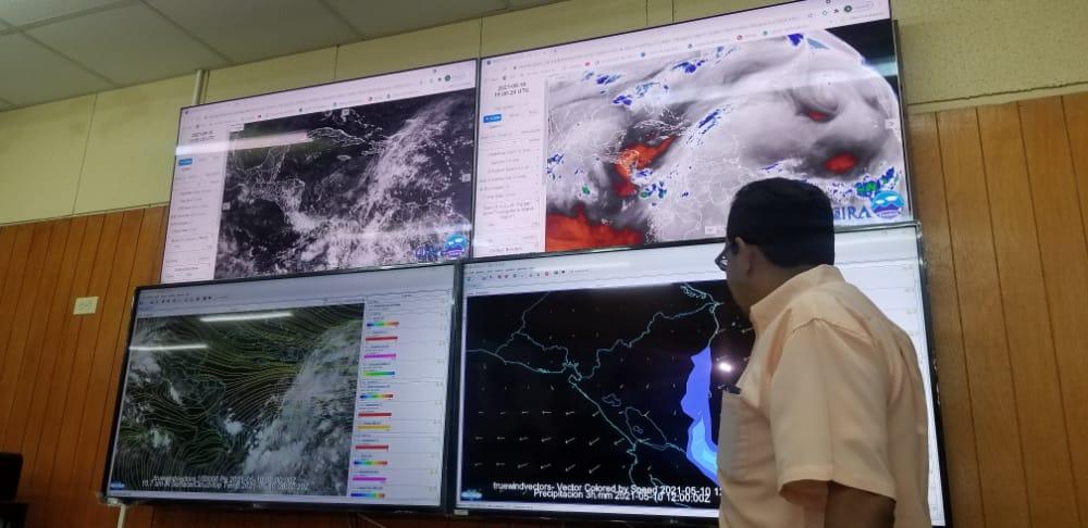 INETER monitorea tormenta tropical Andrés Managua. Radio La Primerísima