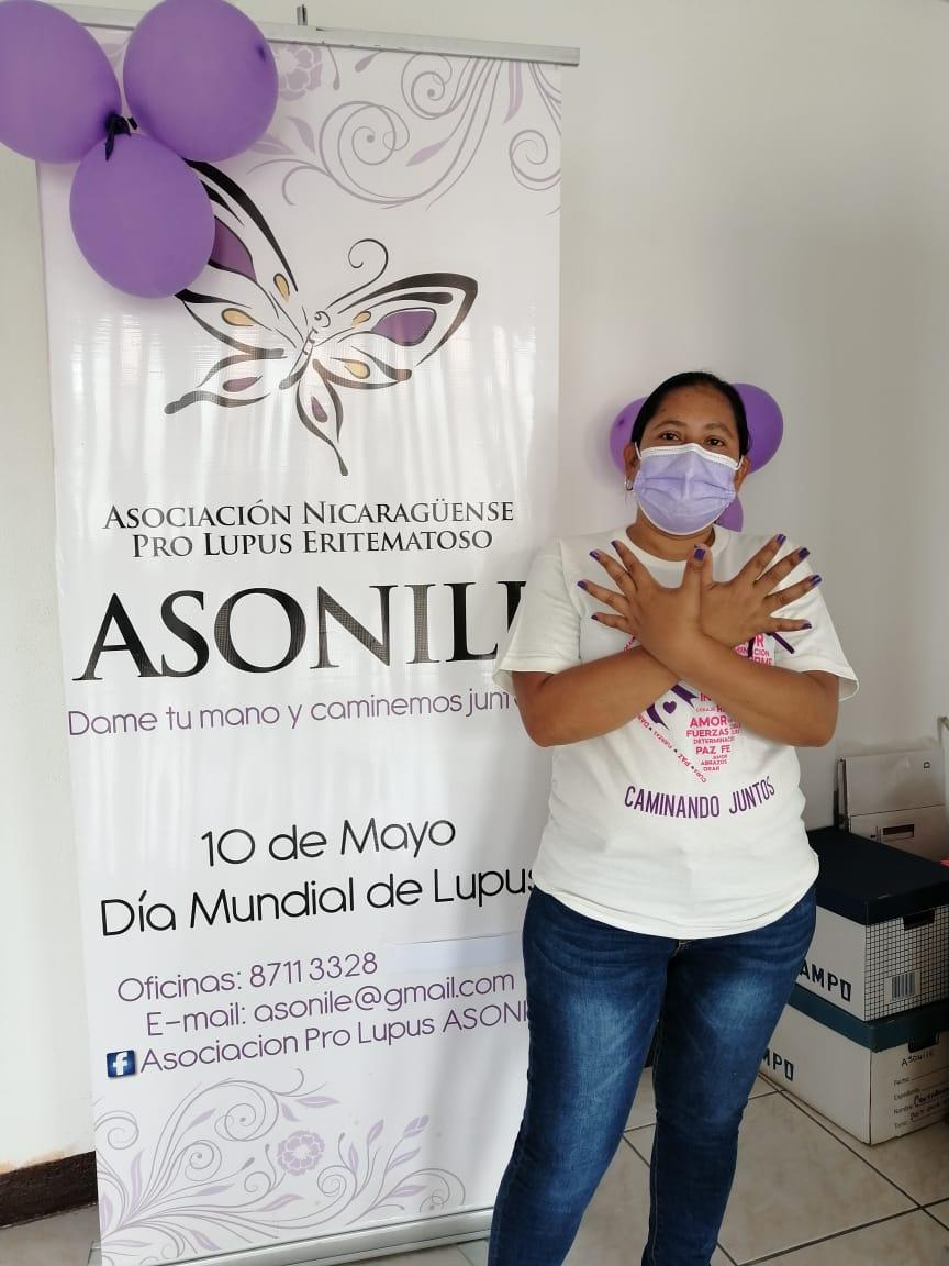 Conmemoran Día Mundial del Lupus Managua. Danielka Ruiz/ Radio La Primerísima