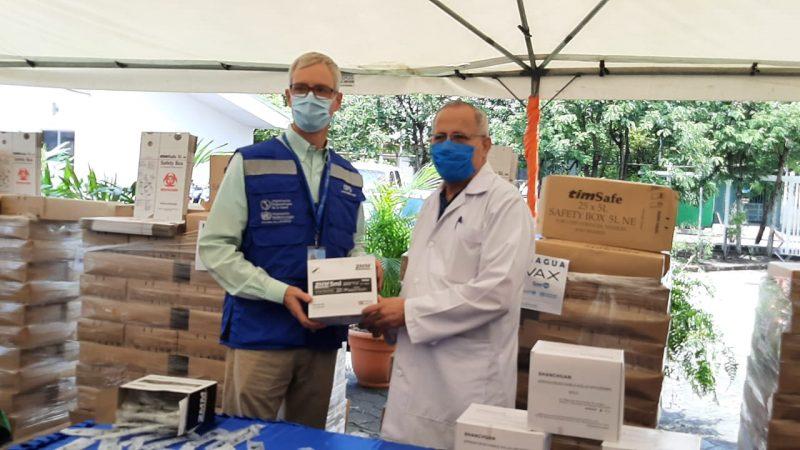 OPS dona 560 mil jeringas para aplicar vacunas contra Covid-19 Managua. Libeth González/Radio La Primerísima