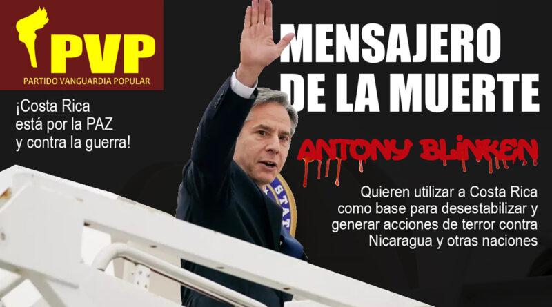 La injerencia norteamericana incita a la guerra y la muerte Periódico digital Libertad, Partido Vanguardia Popular, Costa Rica