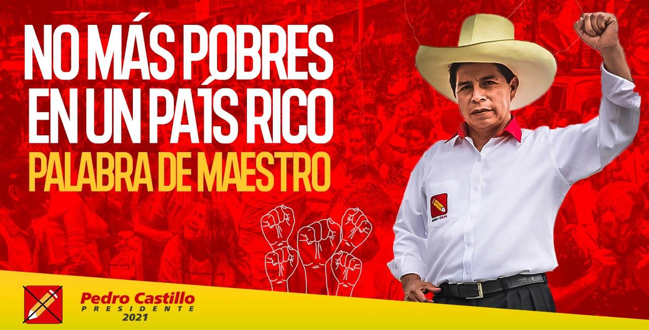 «Pedro Castillo, un hombrecito andino, puede ser Presidente de Perú» Por Mario Hernández | Rebelión
