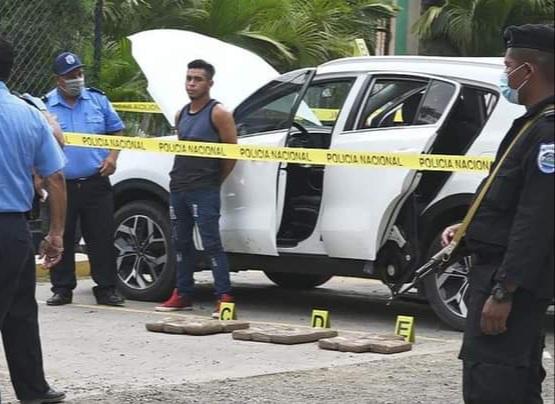 Policía Nacional incauta 17 paquetes de cocaína en Madriz Managua. Radio La Primerísima