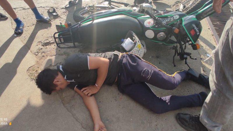 Un lesionado tras accidente de tránsito en Siuna Managua. Radio La Primerísima