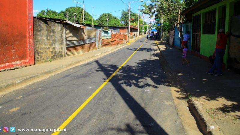 Invertirán 33 millones de córdobas en obras en barrio capitalino Managua. Radio La Primerísima