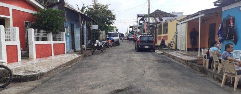 Reparan y construyen 24 calles en municipio de Santa Teresa Managua. Por Manuel Aguilar/Radio La Primerísima