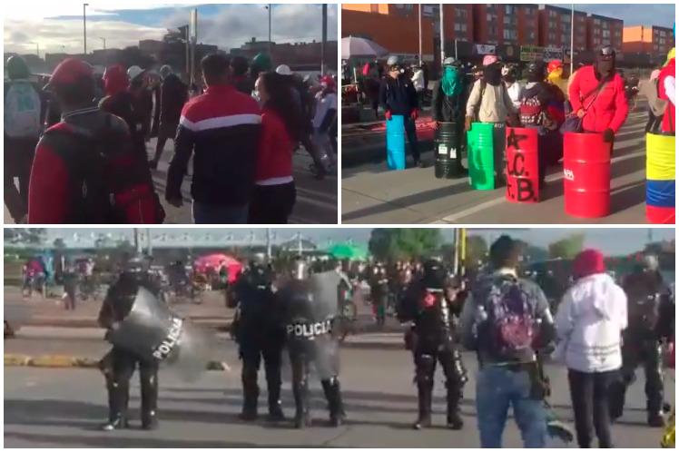 Otra jornada de movilizaciones en Colombia Bogotá. Prensa Latina