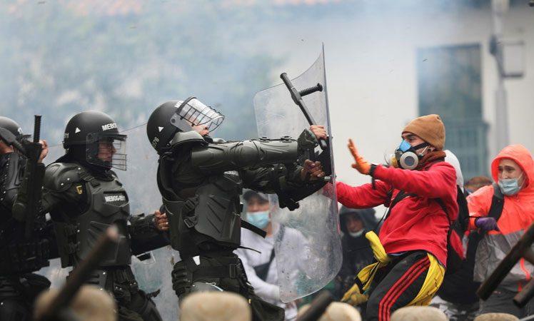 ONU y Unión Europea condenan violencia represiva en Colombia Sergio Ferrari, desde la ONU, Ginebra Suiza