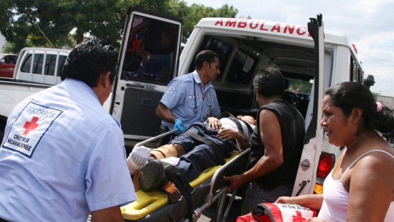 Cruz Roja brindó 144 atenciones este fin de semana Managua. Lisbeth González/ Radio La Primerísima
