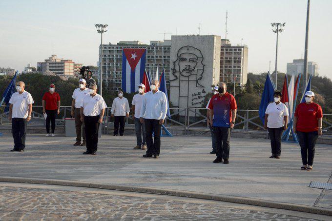 Cuba celebra Día Internacional de los Trabajadores La Habana. Granma