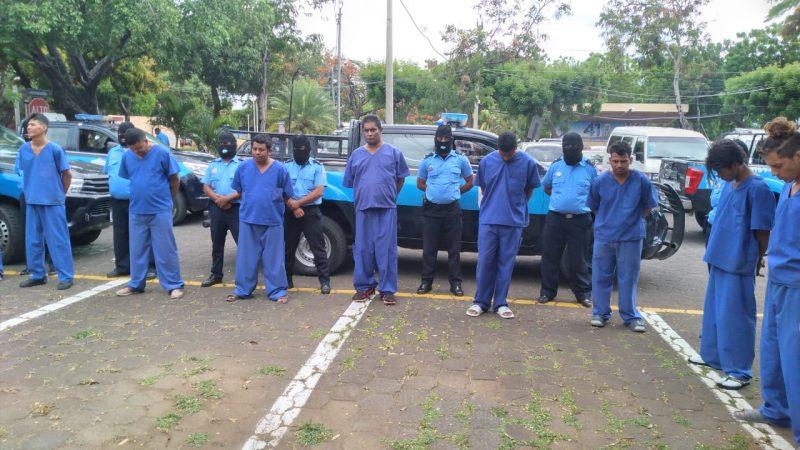 Capturan a 13 homicidas a nivel nacional Managua. Jerson Dumas/ Radio La Primerísima