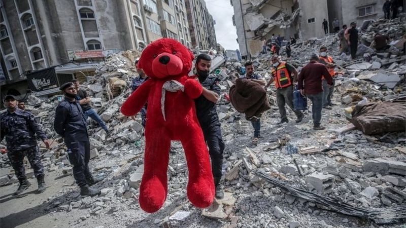 Sigue corriendo sangre en Franja de Gaza Tel Aviv. BBC Mundo